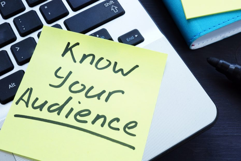 Know Your Audience Written On The Memo.